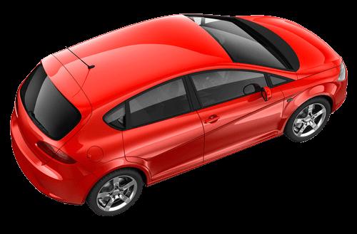 Rotes Auto